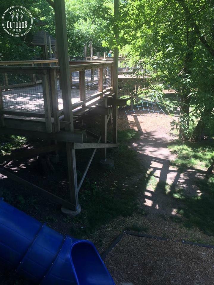 walker johnston park wooden playground
