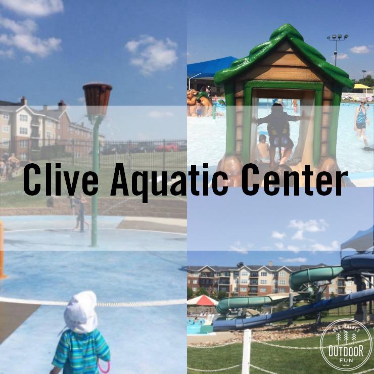 Clive Aquatic Center Pool Iowa