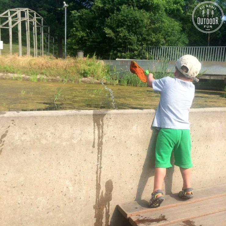 Greenwood Ashworth Park Pond And Splashground Des Moines Iowa Des Moines Outdoor Fun