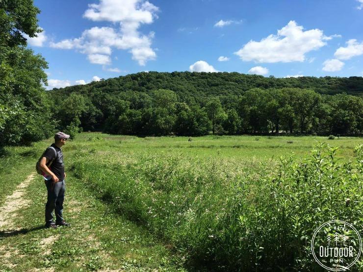 prairie des moines area kuehn conservation area earlham iowa
