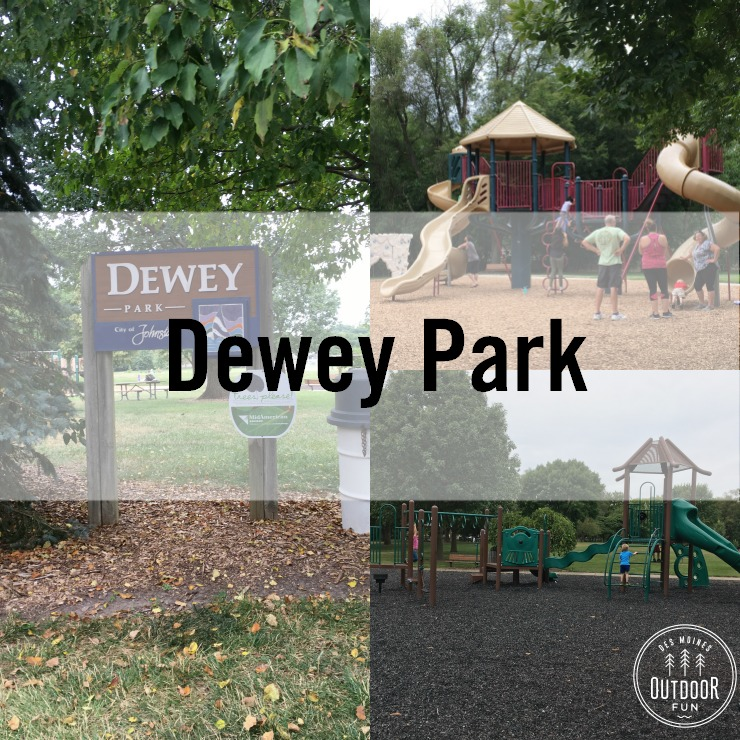 dewey park in johnston iowa