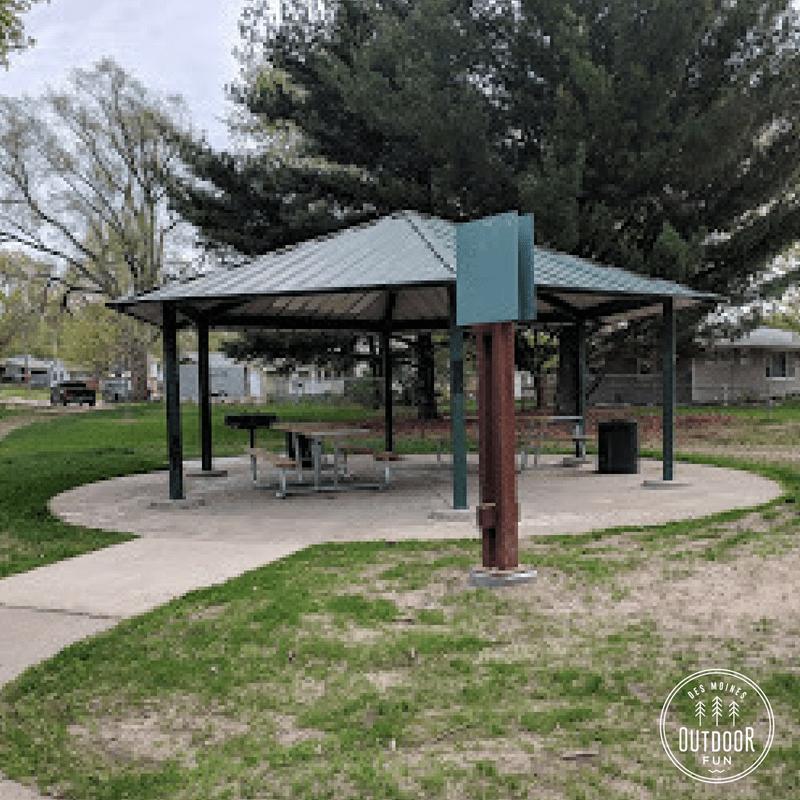 Belle M. Turner Park, Des Moines. Iowa
