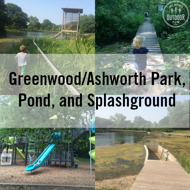 Greenwood Ashworth Park, Pond, and Splashground