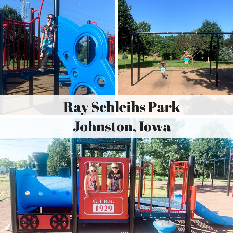 Ray Schliehls Park, Johnston, Iowa, park