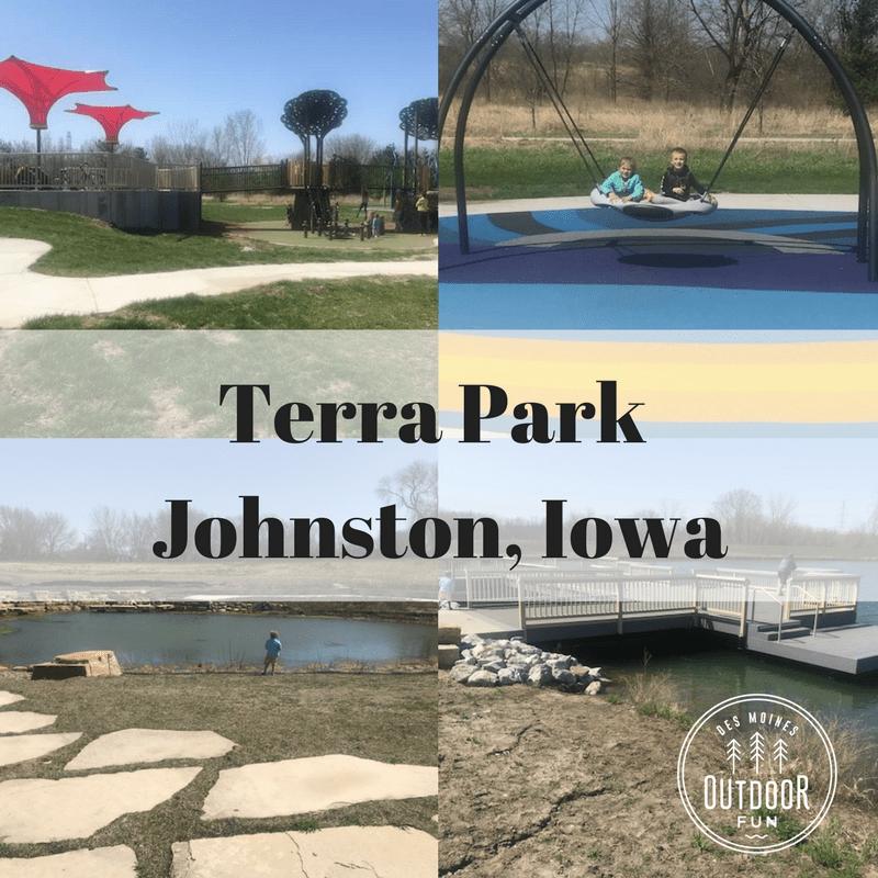 Terra Park, Johnston, Iowa, Des Moines, Parks