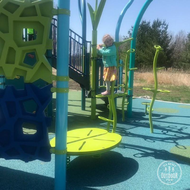 Terra Park, playground, Johnston, Iowa
