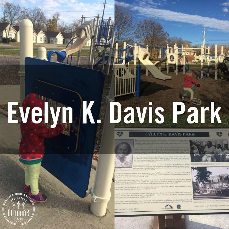 Evelyn Davis Park Des Moines Iowa