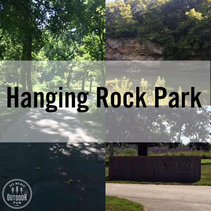 Hanging Rock Park – Redfield, Iowa