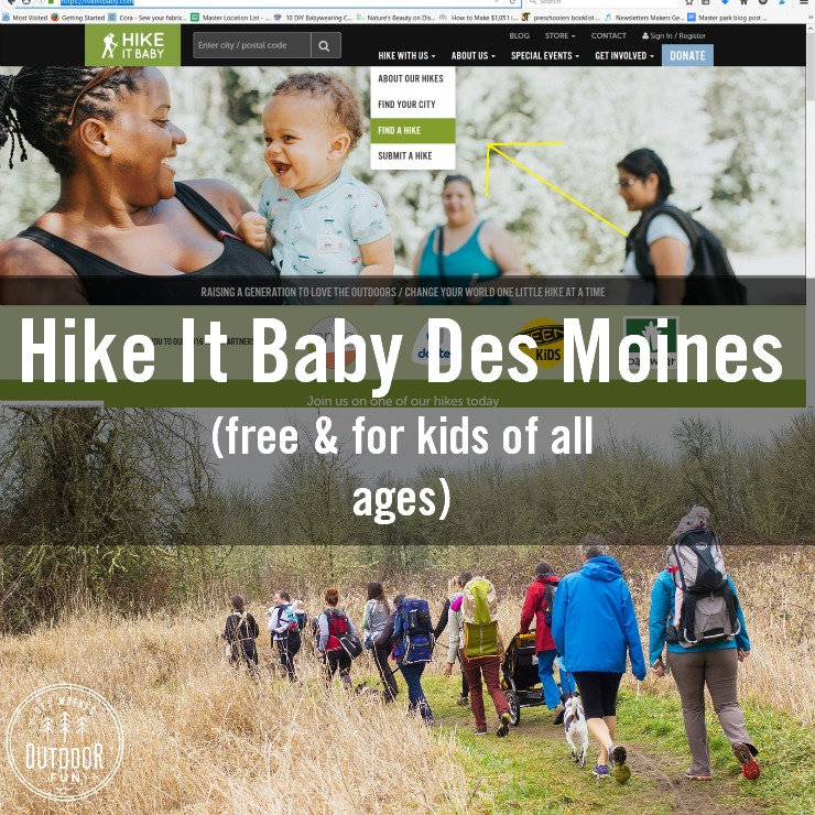 Hike It Baby Des Moines