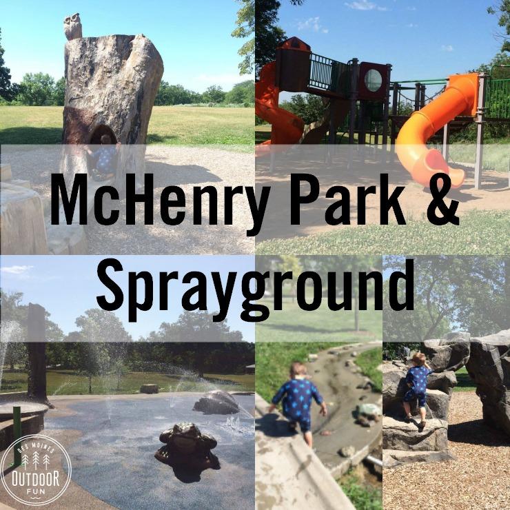 Mchenry Park And Sprayground Des Moines Iowa
