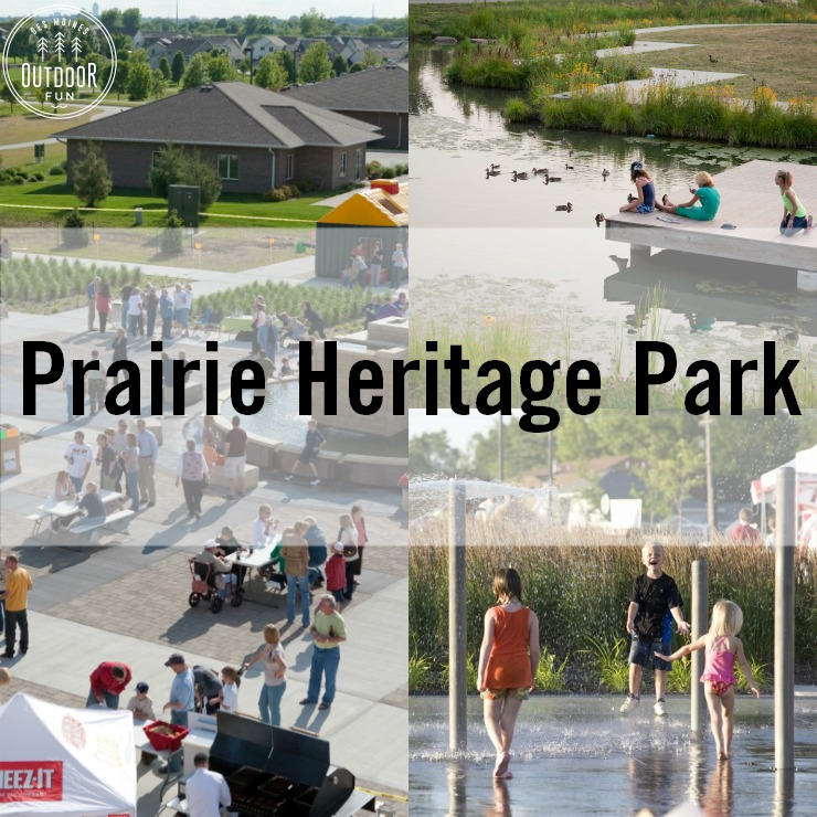 Prairie Heritage Park And Civic Plaza Altoona Iowa