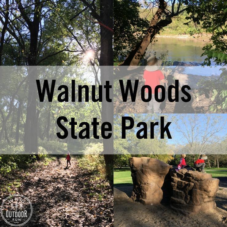 Walnut Woods State Park Des Moines Iowa