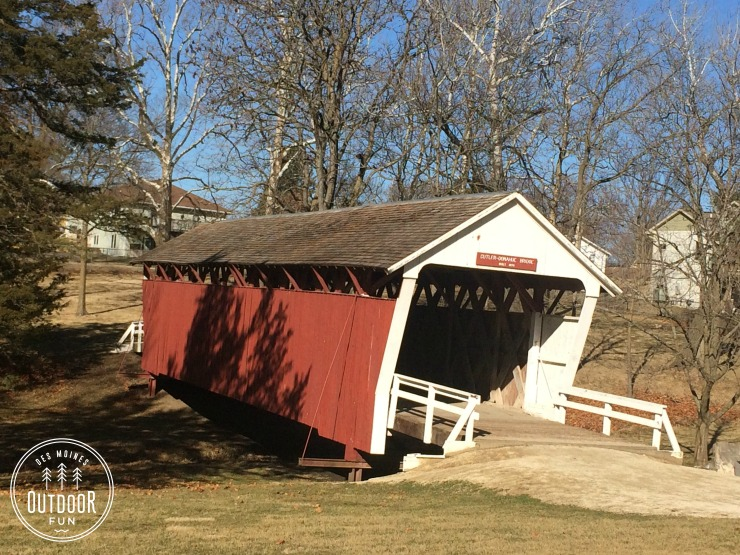winterset city park hiking trail covered bridge
