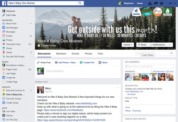 hike-it-baby-des-moines-facebook-group