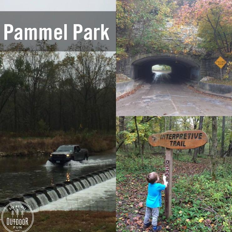 Pammel Park In Winterset, Iowa