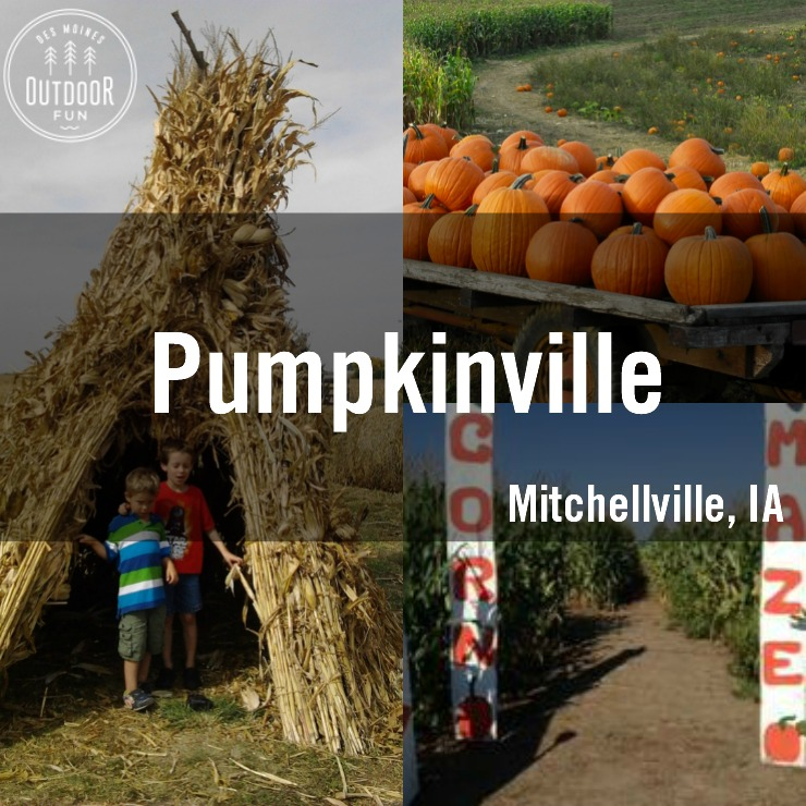 Pumpkinville Mitchellville Iowa Des Moines Pumpkin Patch