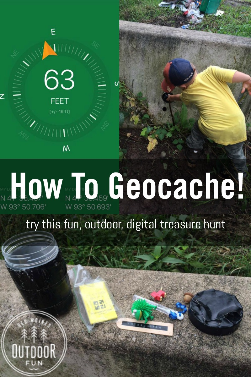 Wondered about how to start geocaching? It isn't hard! Check out these pictures and learn about the app that makes it easy, and get started exploring the outdoors in this fun, digital scavenger hunt!