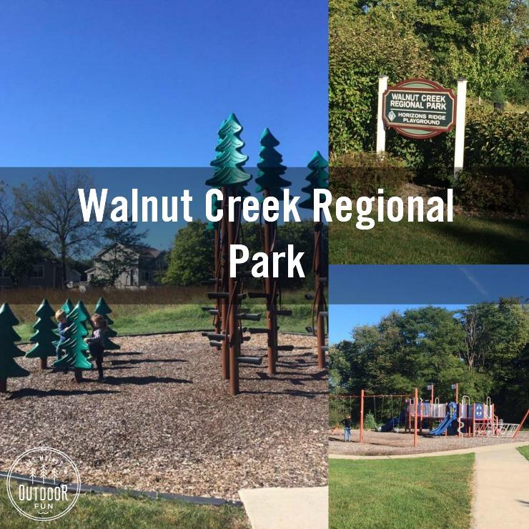 Walnut Creek Regional Park in Urbandale, Iowa