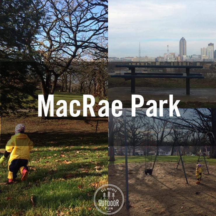 Macrae Park Des Moines Iowa