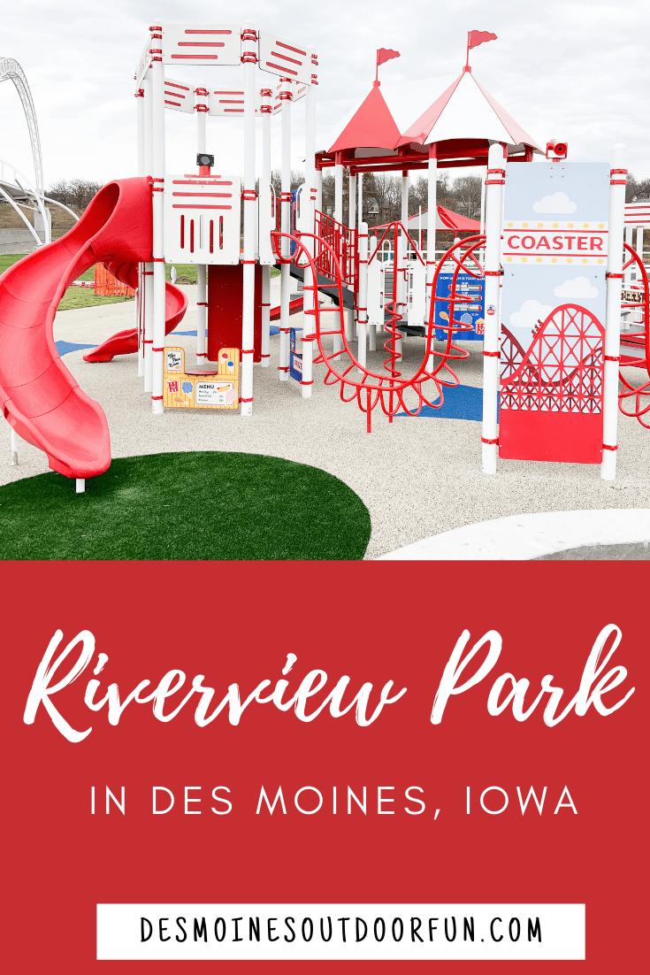 Riverview Park, Des Moines, Iowa, all inclusive playground, inclusive