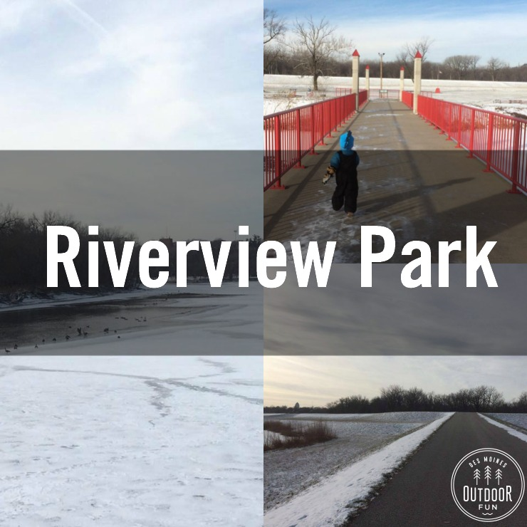Riverview Park In Des Moines, Iowa