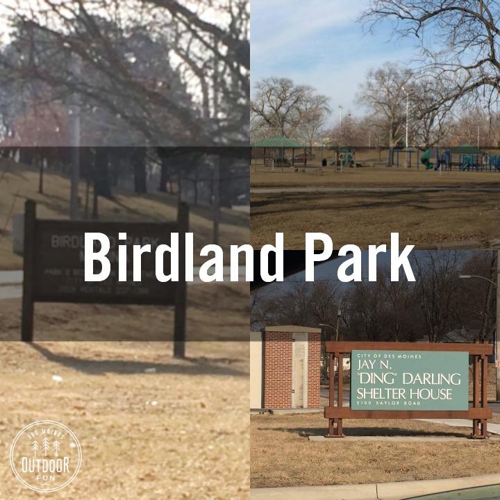 Birdland Park Des Moines Iowa