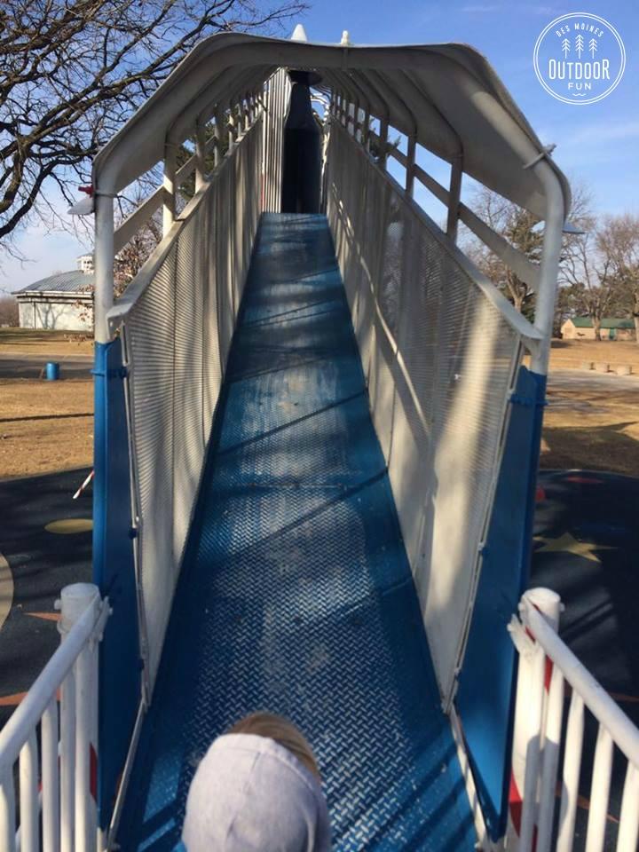 union park rocket slide