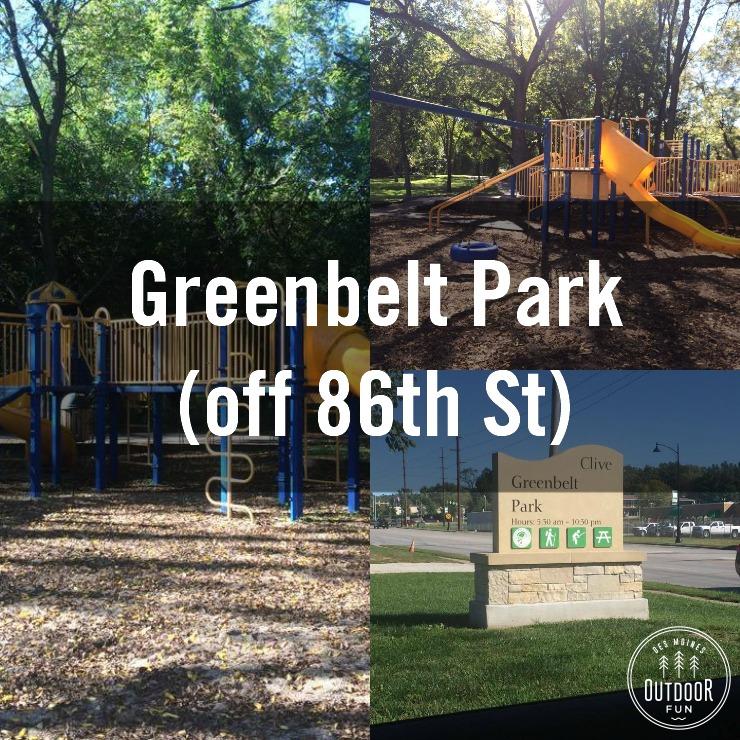 Greenbelt Park In Clive Iowa