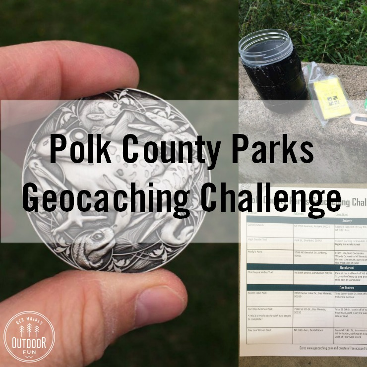 Polk County Geocaching Challenge Iowa