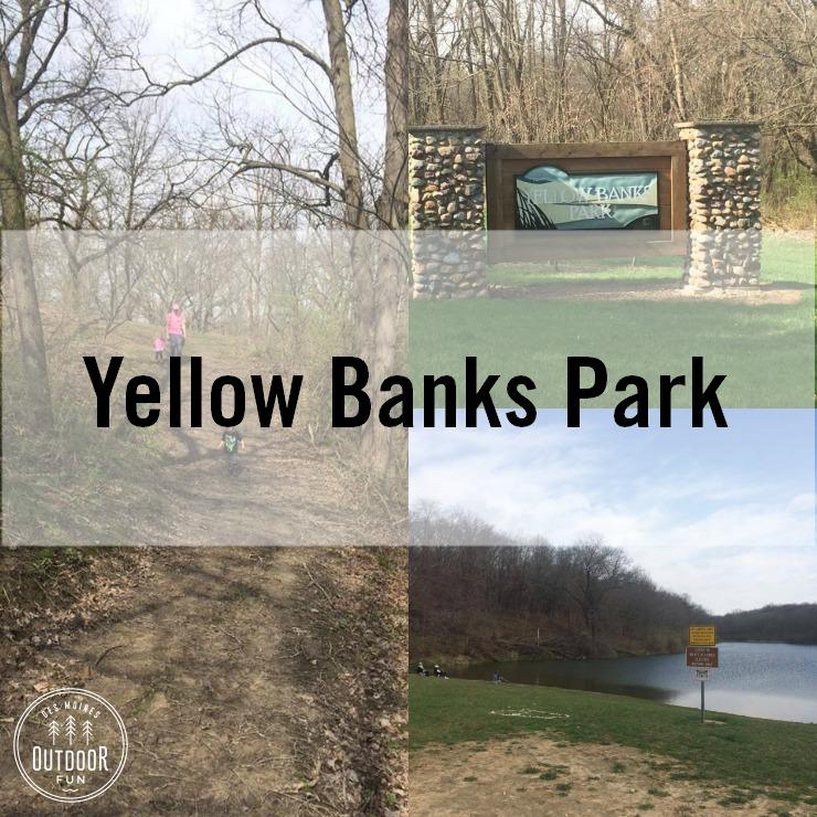 Yellow Banks Park Des Moines Iowa