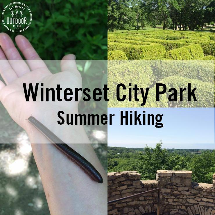 Winterset City Park In Summer Iowa