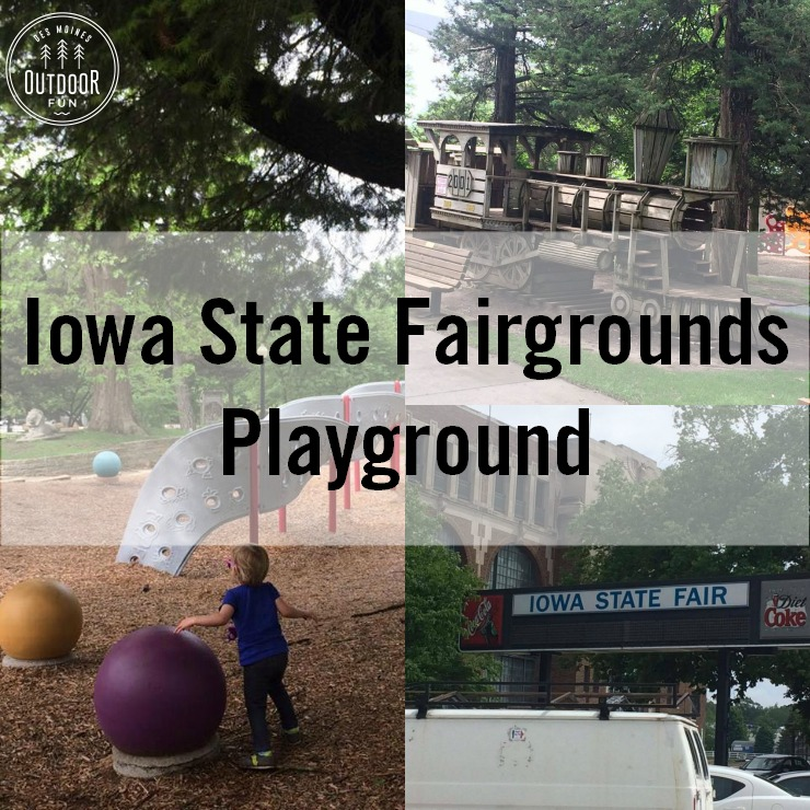 The Playground At Iowa State Fair