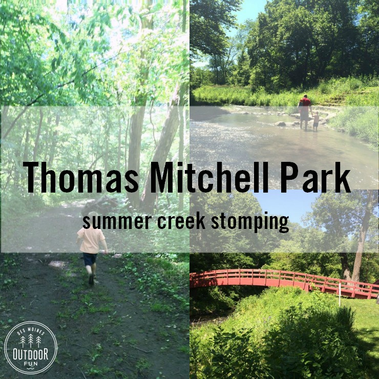 Thomas Mitchell Park Creek Stomping