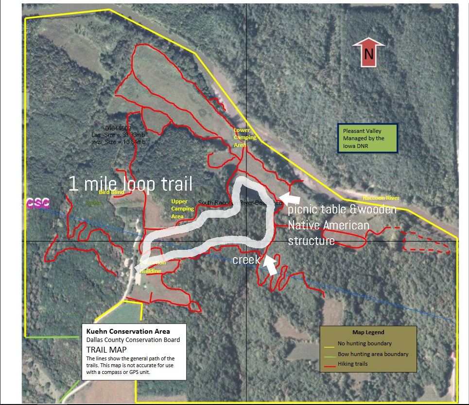 kuehn camping route
