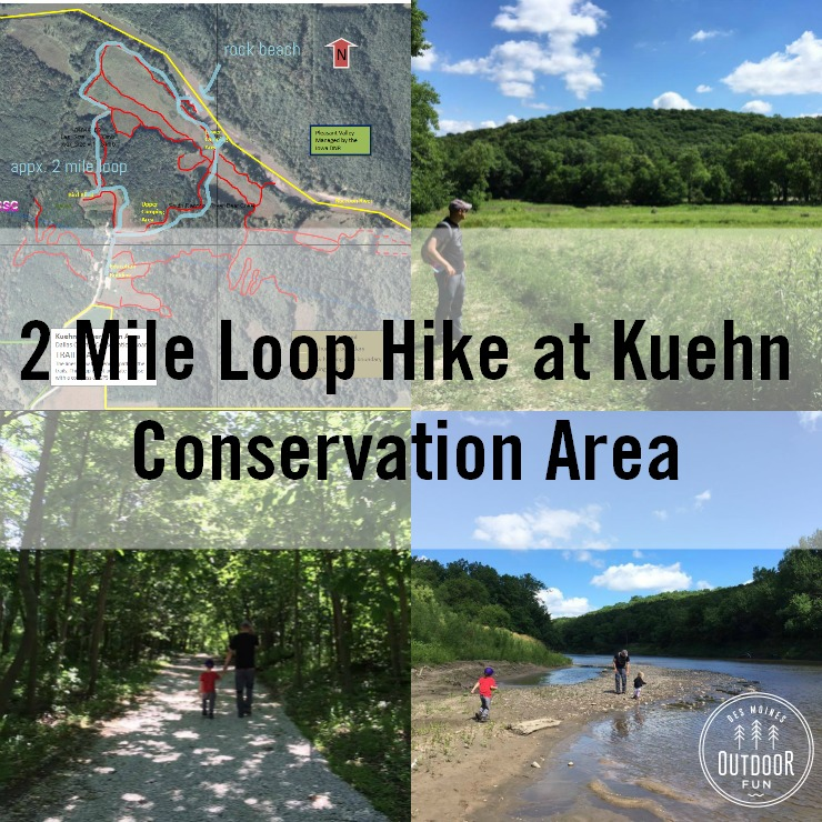 trail at kuehn conservation area