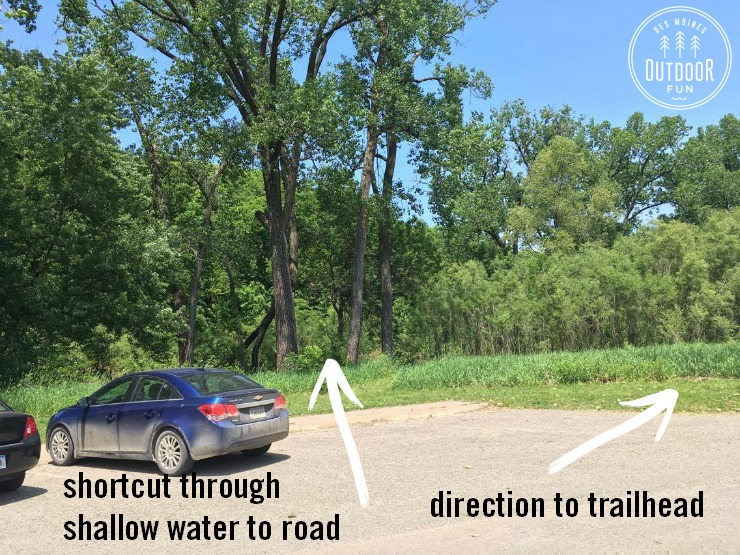 where to park at ledges state park iowa