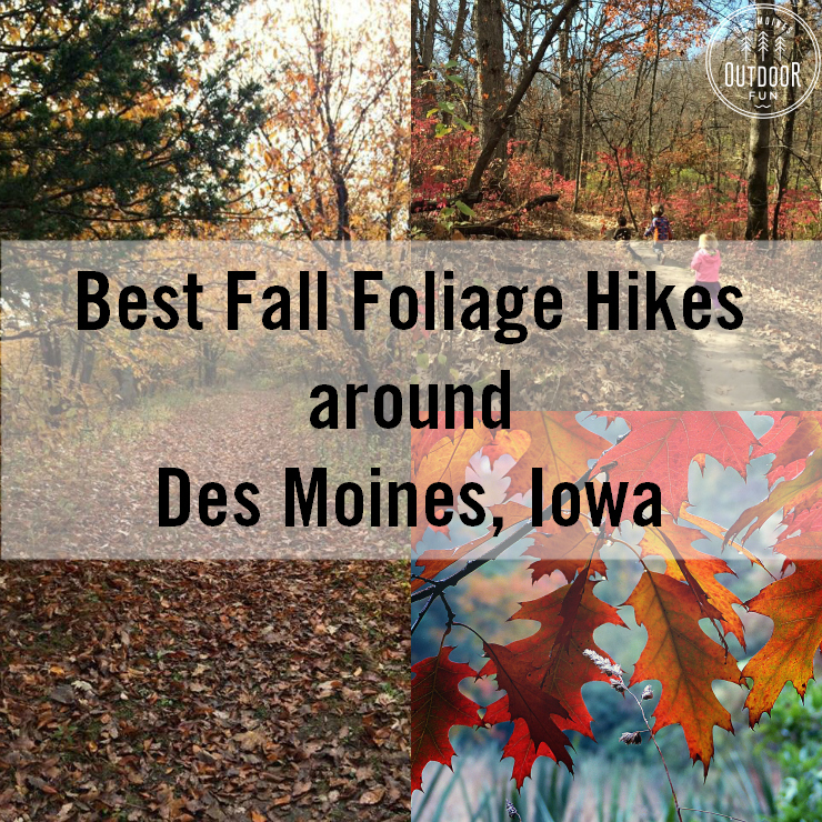 Places To See Fall Leaves Around Des Moines, Iowa -- Tips For Fall Foliage In Central Iowa!