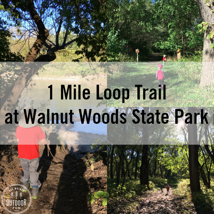trail for kids at walnut wood state park des moines iowa