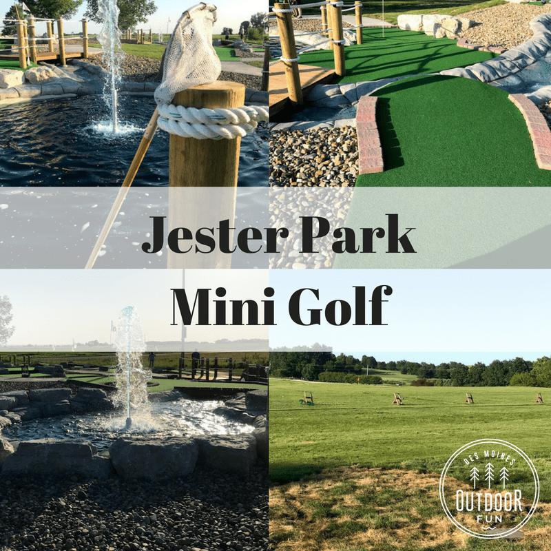 Jester Park, Mini Golf, Iowa