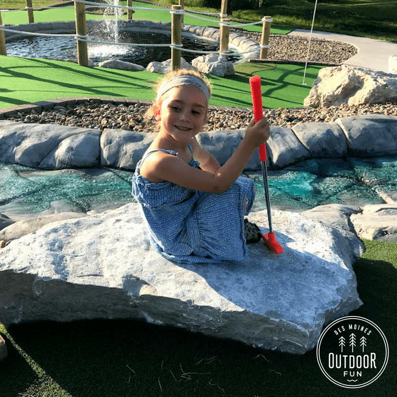 Mini Golf, Jester Park, Iowa