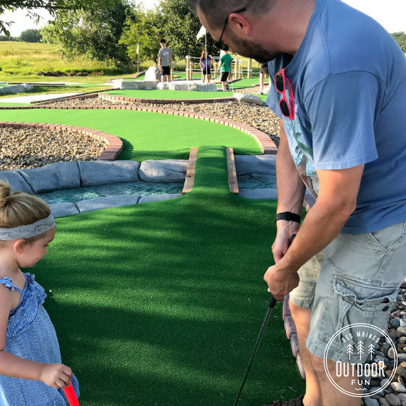 Jester Park, Mini Golf, Iowa
