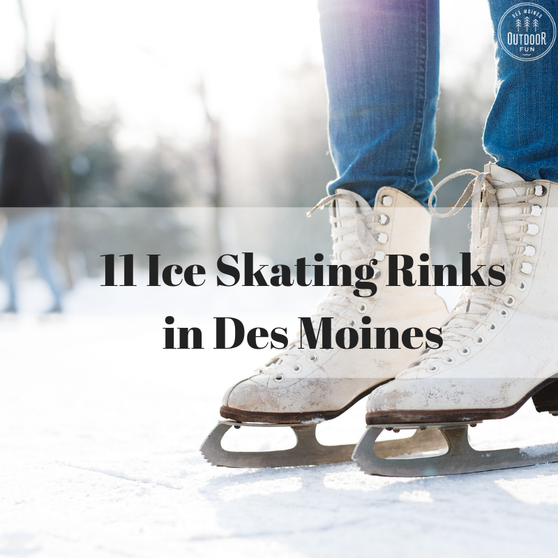 Ice Skating, Des Moines, Iowa
