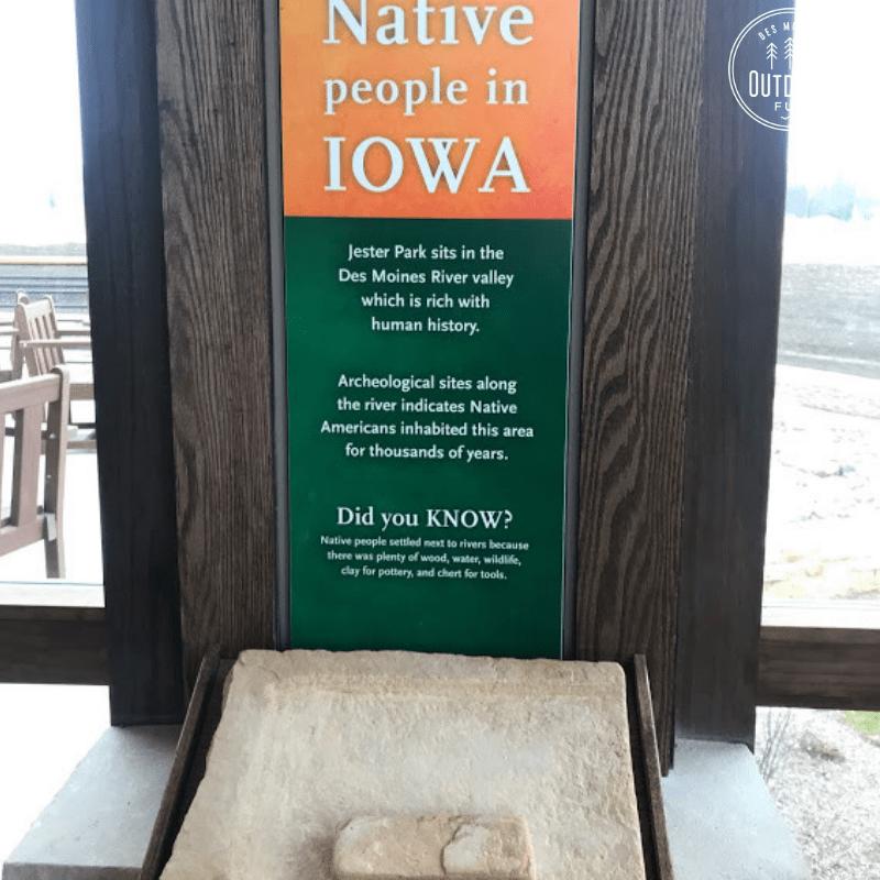 Jester Park Nature Center, Granger, Iowa