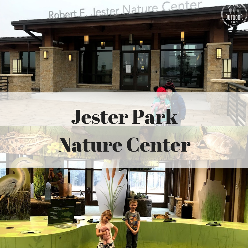 Jester Park, Jester Park Nature Center, Granger, Iowa