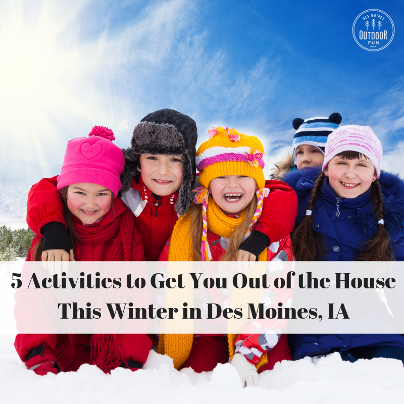 Winter, Des Moines, Iowa, Things To Do