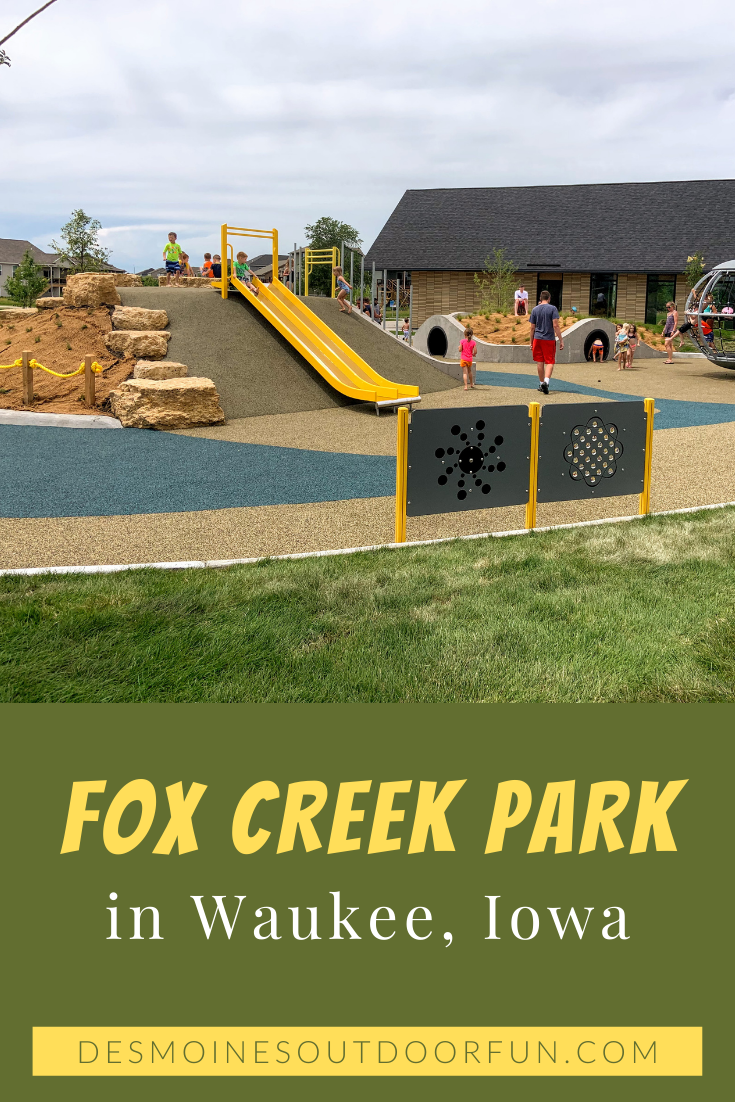 Fox Creek Park, Waukee, Iowa, Des Moines, parks