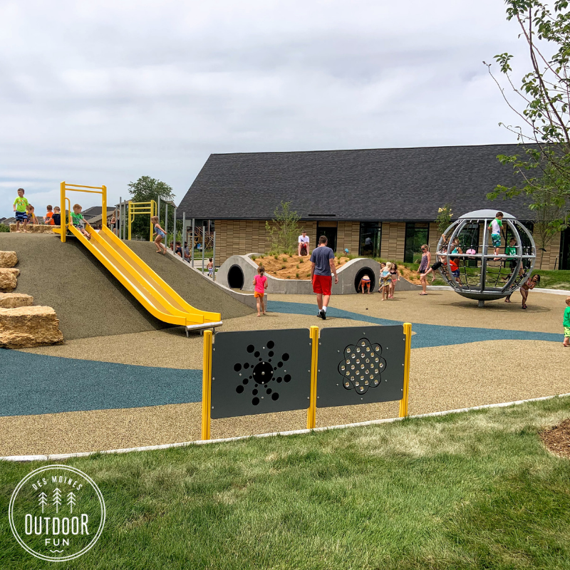 Fox Creek park, Fox Creek splash pad, Waukee, Iowa, Des Moines, park