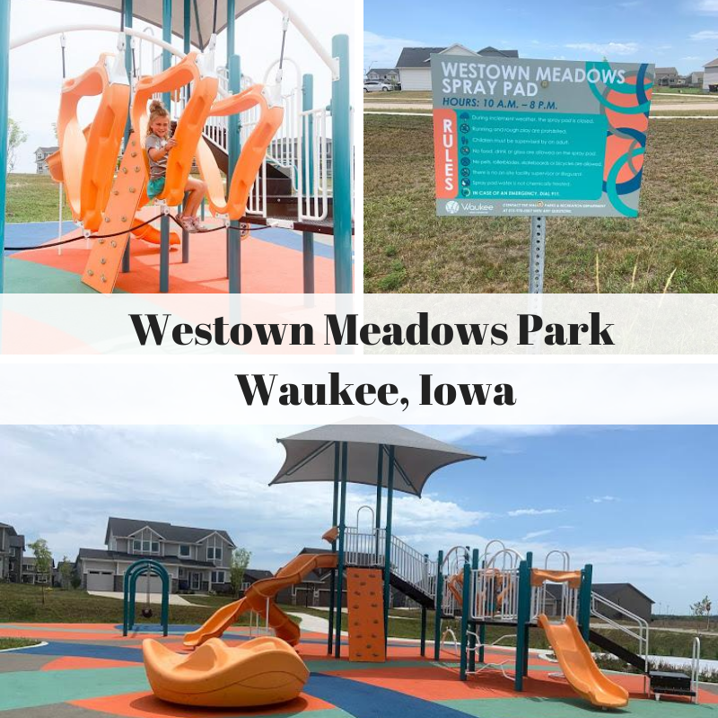 Westown Meadows Park, Waukee, Iowa