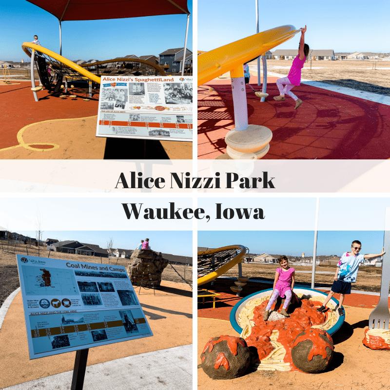 Alice Nizzi Park, Waukee, Iowa, Des Moines, parks