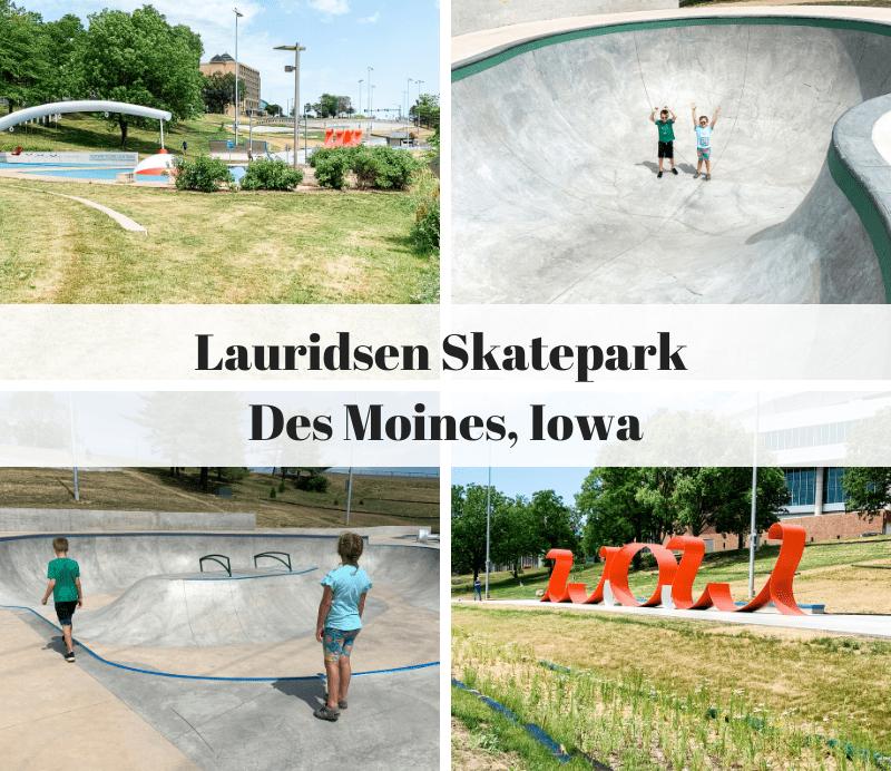 Lauridsen Skatepark, Des Moines, Iowa, Principal Riverwalk, skateboarding, skateboarding in Des Moines, DSM Skatepark